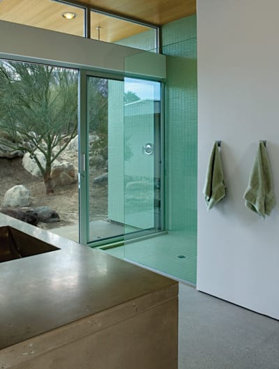 LITTLE TUSCAN HOME - Lance O'Donnell designed and built his family's house at 2299 N. Via Monte Vista in Palm Springs