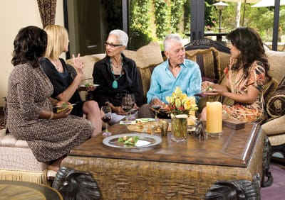 Yvette Bourne, Andrea McGinty, Mary D'Aprix, Joseph Vacek, and 