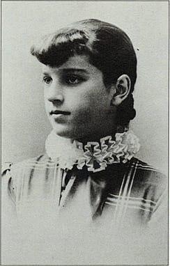 Pearl Guthrie McCallum at 15.