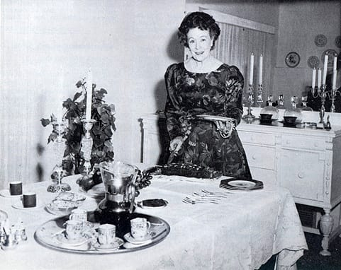 Merry Christmas and Bon Appetit - Dec. 1966