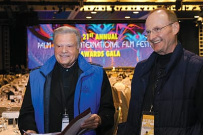 Festival Chair Harold Matzner and Executive Show Producer Richard DeSantis discuss gala preparations