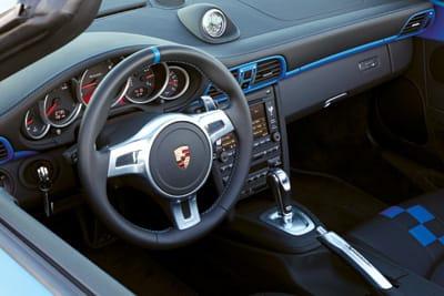 Porsche Speedster Interior