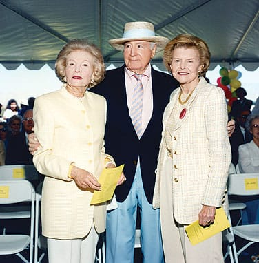 Walter and Leonore Annenberg donated land and money for the Children's Discovery Museum of the Desert in Rancho Mirage. The groundbreaking was attended by former President Gerald Ford and former First Lady Betty Ford, who were good friends of the Annenbergs and frequent guests at Sunnylands.