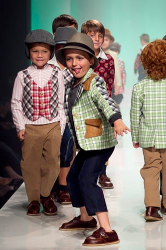 Kamelia Stojanikova's first fashion collection is for young boys. She garners inspiration from Americana looks in the 1930s — a blend of the Golden Age of Hollywood and the Great Depression