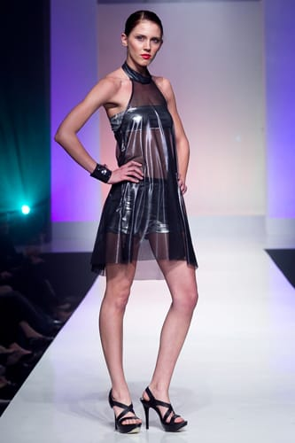 """""""Electric City"""" is the name of Kristine Flanigan's active-wear collection, inspired by the culture, lights, and nightlife of Los Angeles"""