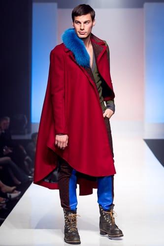 The Edwardian Era inspired Alexandra Paulus' menswear collection.
