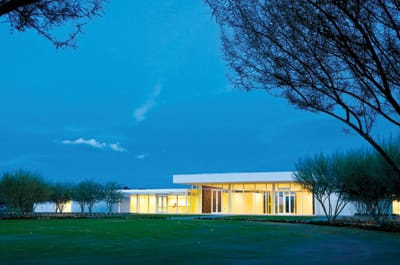 Beyond the pink walls of Sunnylands in Rancho Mirage —  Walter and Leonore Annenberg Estate