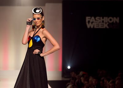 Mondo Guerra debuts his first collection since the eighth season finale of Project Runway