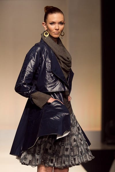 Christopher Collins debuts his first collection since the eighth season finale of Project Runway.