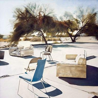 Deborah Martin, oil on canvas, 36x36 inches