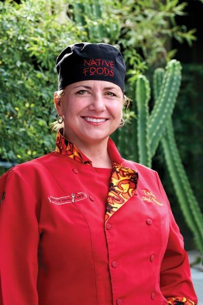 Native Foods Cafés Owner and Executive Chef Tanya Petrovna
