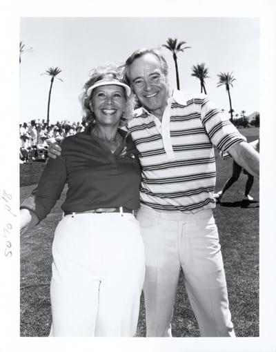 Dinah Shore with Jack Lemmon