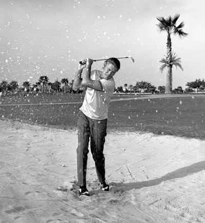 Chuck Connors hosted an annual Chuck Connors Charitable Invitational Golf Tournament at Canyon Country Club benefiting Angel View Crippled Children's Foundation in the late 1960s and early '70s. Joey Bishop served on the tournament committee.