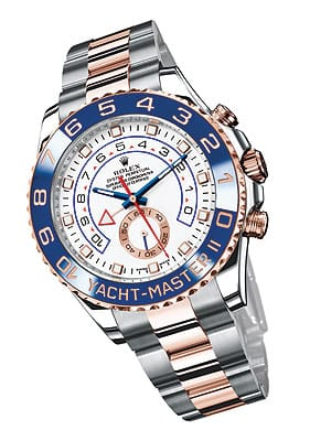 The innovative 2011 models boast a blue Cerachrom virtually scratchproof, nonfading, corrosion-resistant ceramic ring bezel.