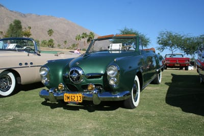 1950 Studebaker Commander convertible