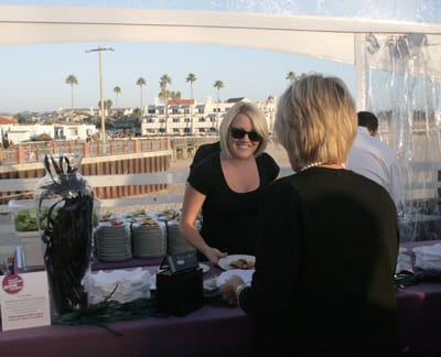 The Sunset Western Wine Awards were presented during an evening reception on the Pismo Beach Pier.