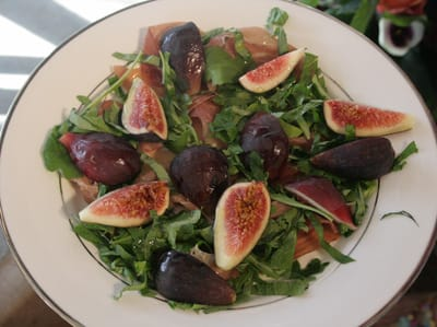 Sunset Food Editor Elaine Johnson demonstrated three ways to use fresh figs: in a salad, an appetizer, and a dessert.