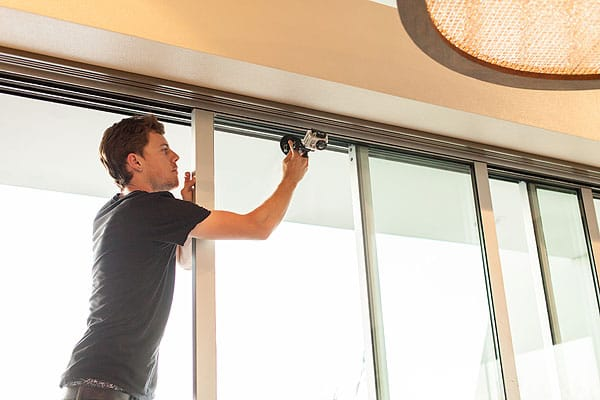 The cameraman sets up the ideal vantage point in the master suite of a Mirada residence featured on HGTV's <em>Million Dollar Rooms</em>.