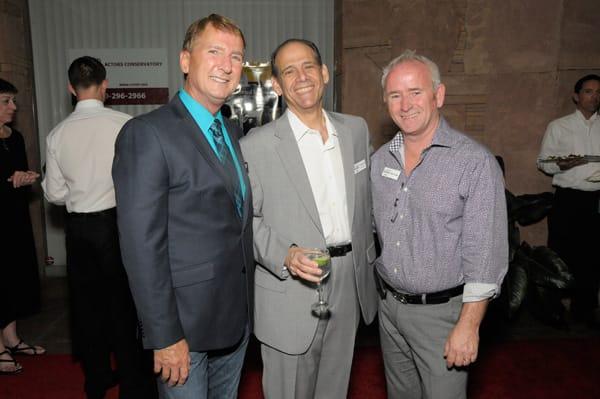 Gary Hall, Scott Sherman and Willie Rhine
