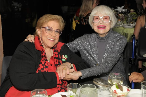 Kaye Ballard and Carol Channing