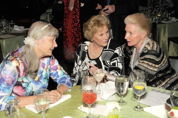 Donna Martin, Fran Murier, and Sylvia Eagar