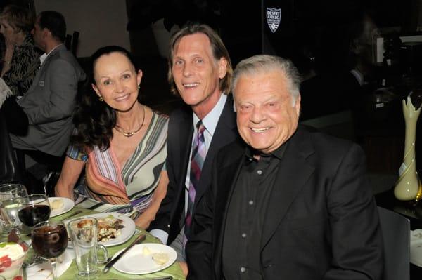 Kay Hanson, Michael Davis, and Harold Matzner