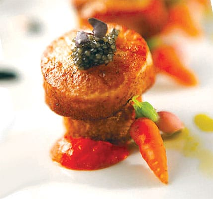 Catalan Mediterranean Cuisine: Executive Chef Drew Davis sources local and sustainable ingredients for a continually changing menu of flavorful dishes inspired by the cuisine of Spain, Italy, and California.