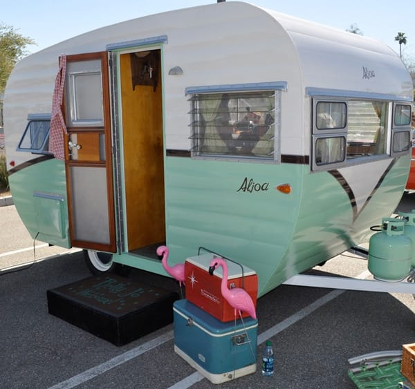 Vintage Trailer Show Resonates With Modernistic Adventure