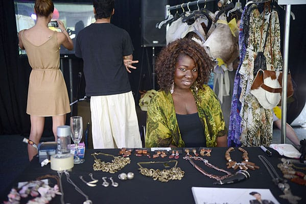 The designers from Fashion Week El Paseo's™ The Drama and Designs of Project Runway held a trunk show for the Palm Springs fashionistas to meet, and purchase apparel from their favorite designers.