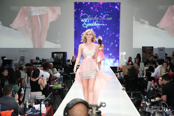 Two young designers earned time on the Fashion Week El Paseo Runway during the Style & Beauty Bash event on Sunday.