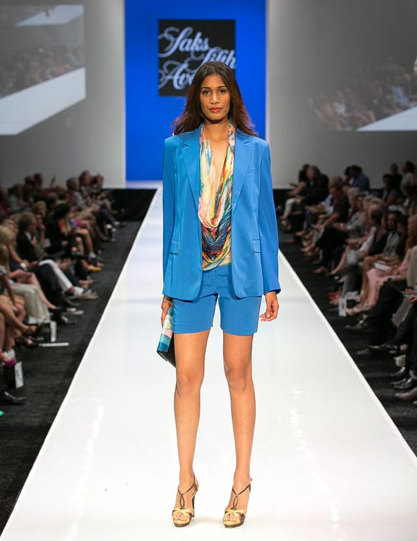 Saks Fifth Avenue kicked off a week of runway shows with the finest women and men's designer clothes from its spring 2013 collections.