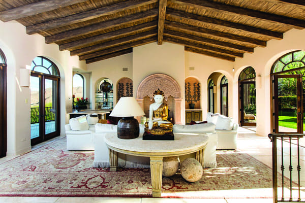 THE TWO-TIME RECORD BREAKER - Architect Juan Carlos Ochoa designed it with a nod to old European monasteries, where gates or passages separate living spaces, each with a different feeling and use.