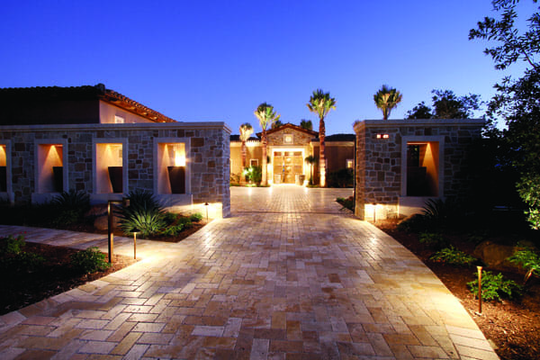 THE ALFRESCO SHOWCASE - A second home for a couple whose primary residence is in Hillsborough, California, this custom Madison Club residence was built in 2010. Its luxurious country vibe features an expansive, stone-tiled entry that leads to an almost-seamless indoor-outdoor living space.
