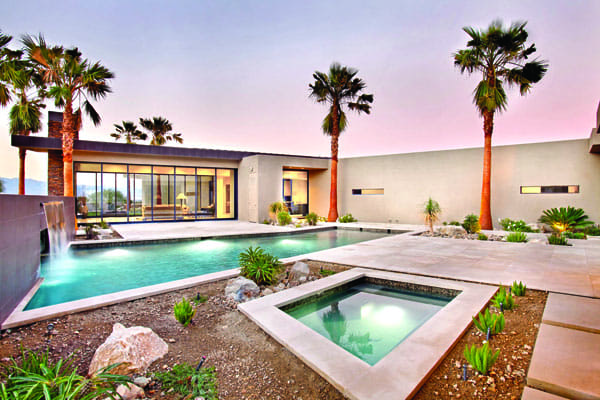 THE SUN WORSHIPER - A slick, contemporary House with a low profile and a high regard for sustainability, this Mirada residence is just waiting for interior designer John Wooden's custom furnishings to bring it to completion.