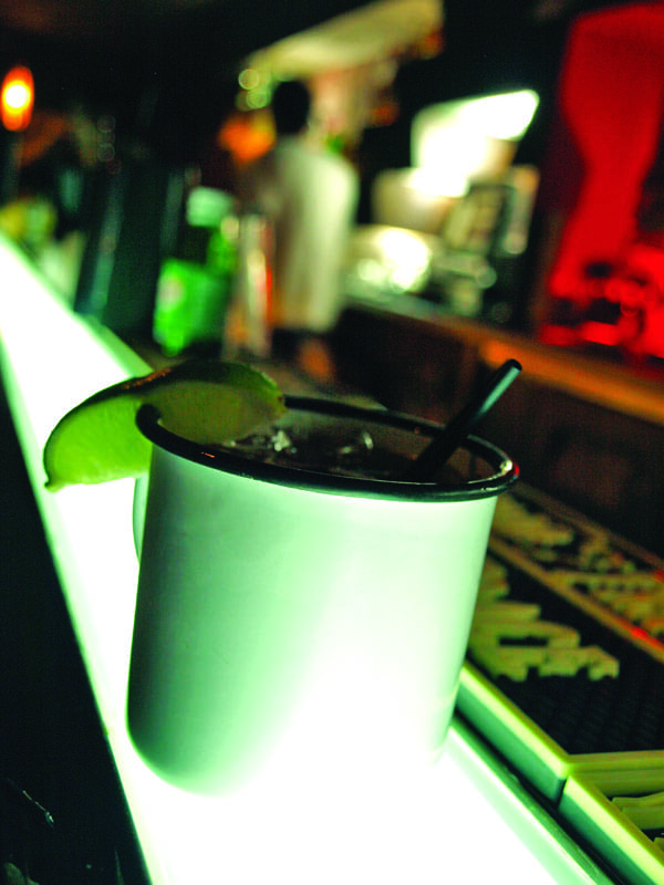 Can you handle this stiff drink at Bar?