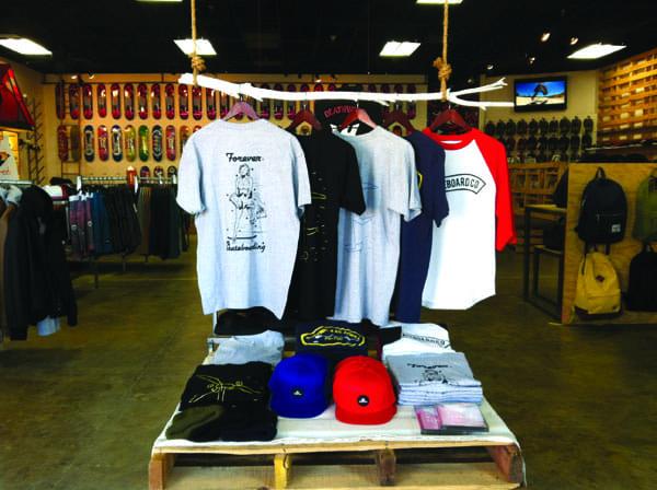 Get gear at Epidemic Skate Shop.