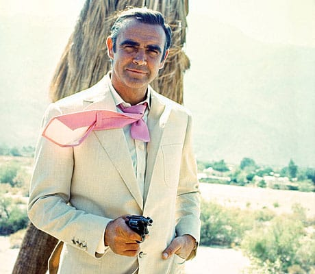 Actor Sean Connery's 1971 Diamonds Are Forever used the Elrod House in Palm Springs.