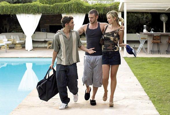 Emile Hirsch, Olivia Wilde, Justin Timberlake.