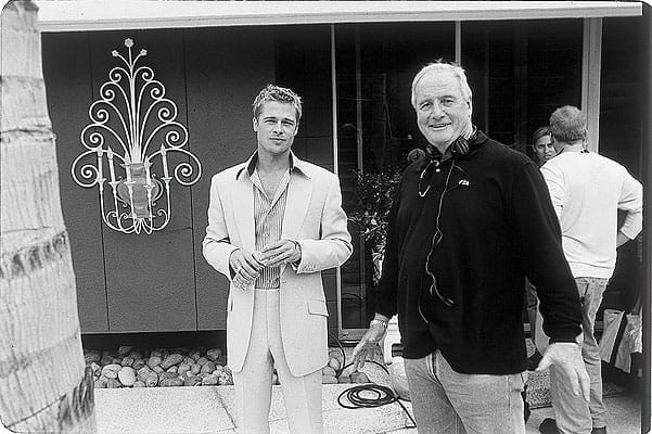Brad Pitt and Jerry Weintraub.