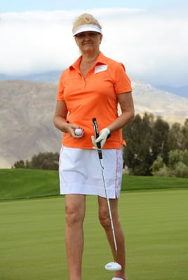 Carol Zale, General Manager of The River in Rancho Mirage, adds a bit of class to the field. Carol is an active member of both the Rancho Mirage Tourism Advisory Committee and a board member of the Rancho Mirage Chamber of Commerce