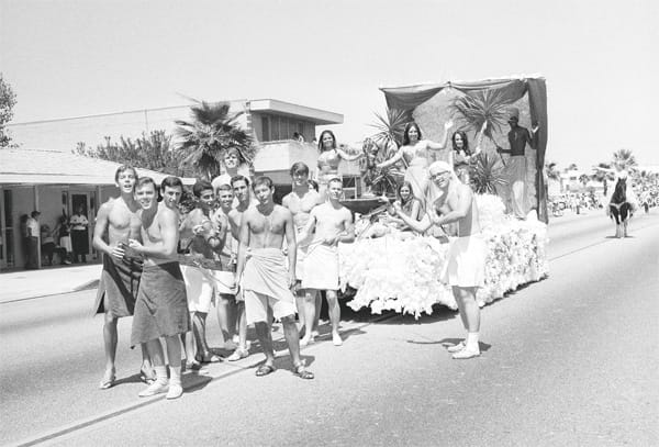 The Desert Circus parade was once the most popular community event in Palm Springs.