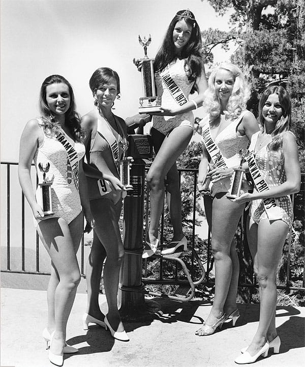 The Miss Tramwayland contest ran from 1965 to 1986.