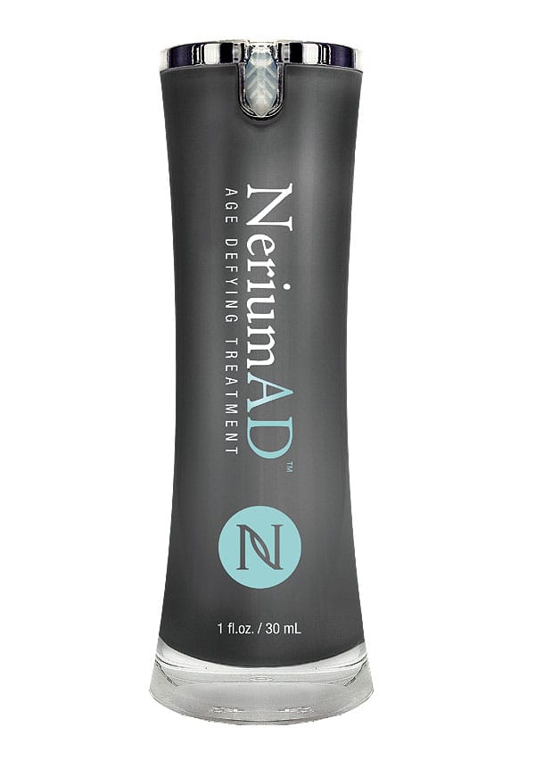 Nerium AD smooths skin, leaving it supple.