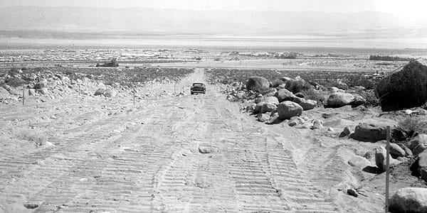 Tramway Road, circa 1962.
