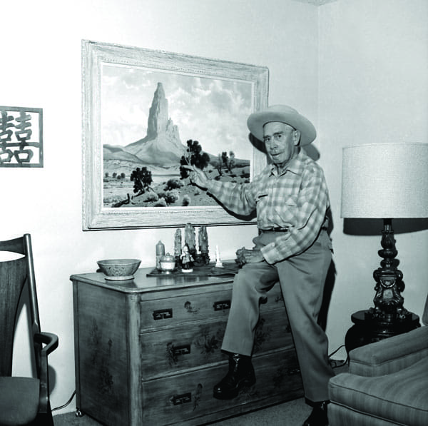 Art of the City - Early landscape painters propelled the Palm Springs artists' colony and transformed the area into a destination for the creative set