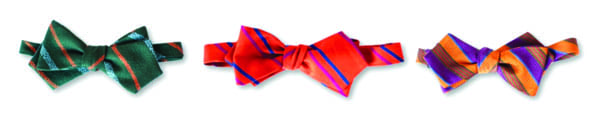 Spice up your man's favorite shirt with a chic bow tie from Mr. Turk Menswear.