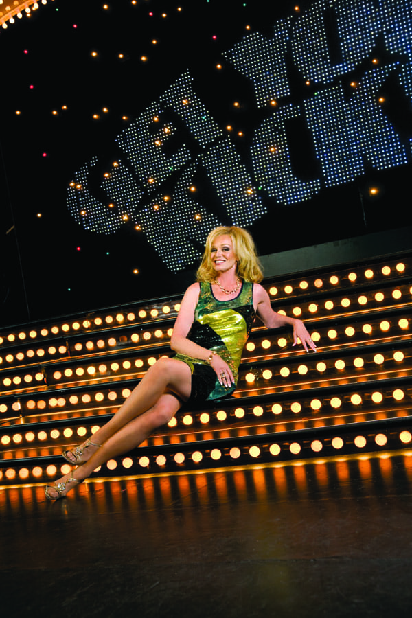 Susan Anton, who headlined the Follies in its 19th season, returns this year to star in the final holiday show.
