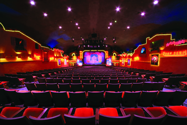 Inside the Historic Plaza Theatre in downtown Palm Springs