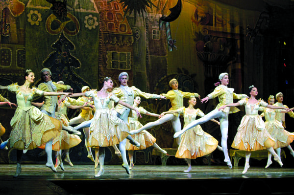 The Moscow Classical Ballet performs The Nutcracker on Dec. 18 at McCallum Theatre.