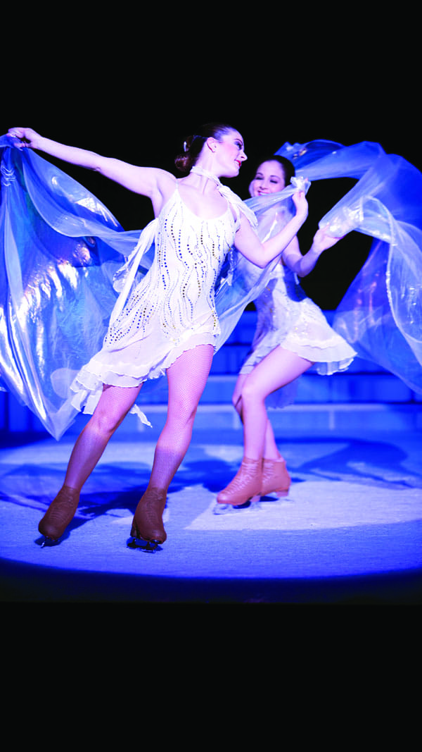 The Holiday Ice Spectacular runs  Dec. 6-7 at Agua Caliente Casino • Resort • Spa.